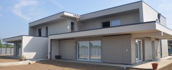 Appartamenti in EQUITONE e Cedral a Calcinate