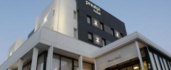 Ristrutturazione Hotel Prealpi con Equitone Tectiva