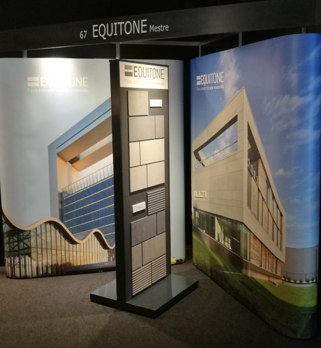 Architect@Work Milano 2017, EQUITONE in vetrina