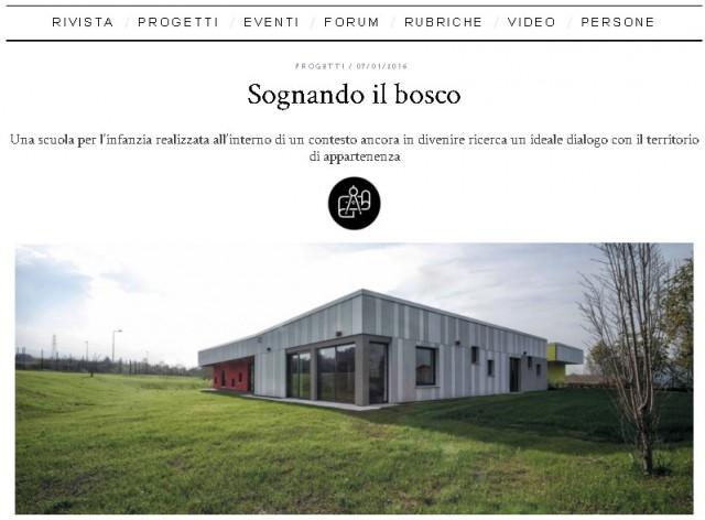 EQUITONE sulla rivista dell'Ordine degli Architetti di Verona