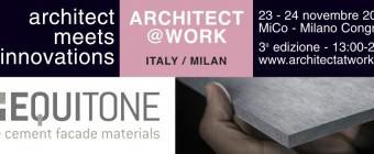 EQUITONE ad ARCHITECT@WORK 2016