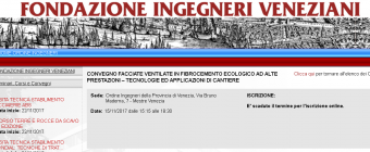 SEMINARIO EQUITONE PRESSO L'ORDINE DEGLI INGEGNERI DI VENEZIA