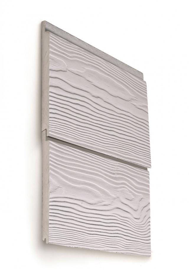 <div> Le Cedral Click sono <strong>doghe in fibrocemento ecologico,</strong> pensate per la realizzazione di <strong>facciate ventilate</strong> con un <strong>montaggio ad incastro complanare,</strong> che d&agrave; vita ad una <strong>facciata moderna e contemporanea.</strong></div> <div> Queste lastre piane silicocalcaree fibrorinforzate, mediamente compresse e autoclavate, garantiscono un&#39;<strong>ottima resa estetica</strong> ed un&#39;elevata durabilit&agrave; nel tempo, per un rivestimento a <strong>manutenzione zero.</strong></div> <div> I colori e le possibilit&agrave; di montaggio permettono di <strong>realizzare tutti gli stili di costruzione</strong>, dalle bande orizzontali classiche alle <strong>bande verticali in stile moderno.</strong></div> <div> &nbsp;</div> <h4> DUE FINITURE</h4> <div> <strong>Wood:</strong> con venature in rilievo, effetto legno<br /> <strong>Smooth:</strong> con superficie liscia, a buccia d&#39;arancia.</div> <div> &nbsp;</div> <h4> 23 COLORI</h4> <div> Disponibilit&agrave; di <strong>23 differenti colorazioni.</strong><br /> Le tabelle RAL/NCS permettono di realizzare porte, finestre e lattonerie negli stessi colori.</div>