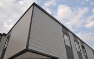 Lastre di grande qualità per rivestimenti di facciata Cedral. Esempio di applicazione in un progetto di ristrutturazione.